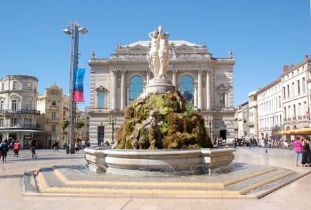 photo de la ville de Montpellier pour un sékjuor