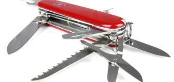 Pourquoi s'offrir un couteau suisse ?